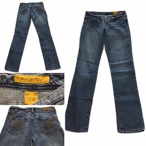 "7 for all mankind Jeans waist 26"" straight cut"
